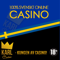 100 free spins hos Karl Casino