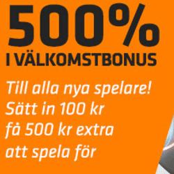 500 % bonus i Expekts casino