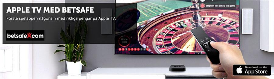Apple TV - Spela Live Dealer Roulette
