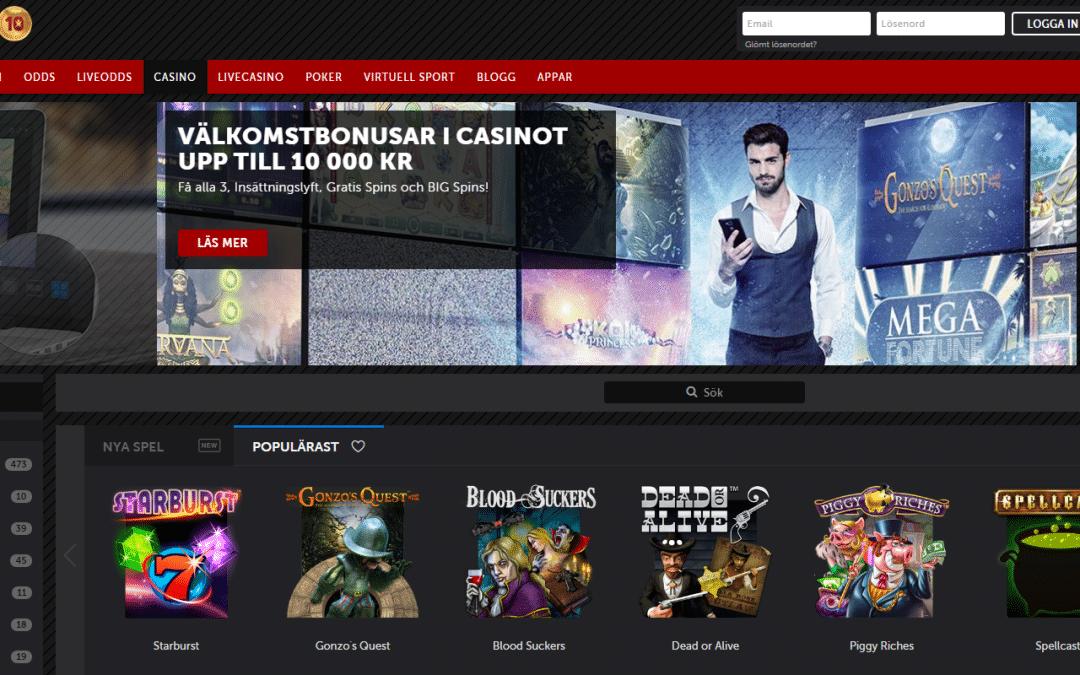 Betsafe casino 100 % bonus upp till 2500 kr