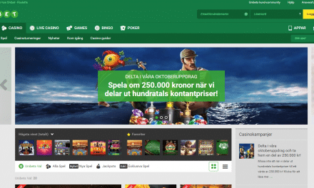 Unibet Casino – Välj mellan 500% eller 200% bonus + 50 free spins!