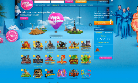 Vera&John 200 % Casino Bonus + 100 Free Spins