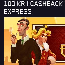 100 kr cashback på Orient Expressen