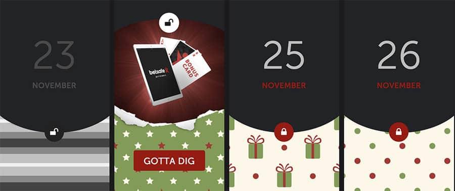 Betsafe Julkalender 2016