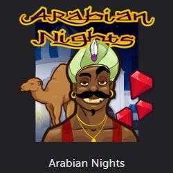Arabian Nights – Jackpotspel med höga insatser