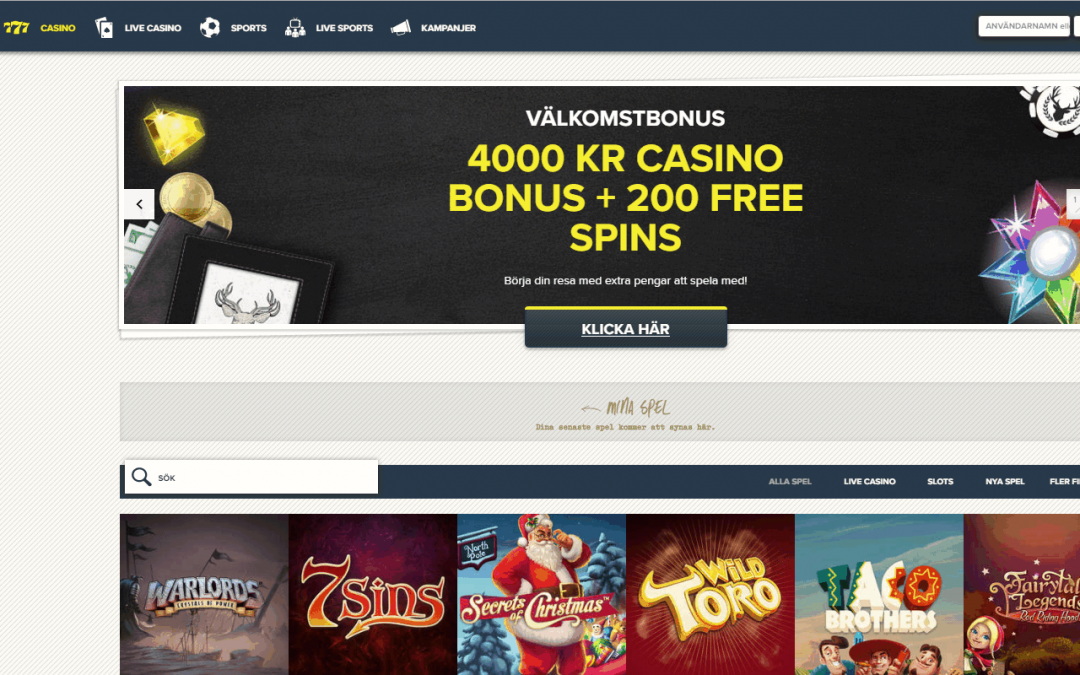 SuperLenny 200 % Casino Bonus och 50 free spins