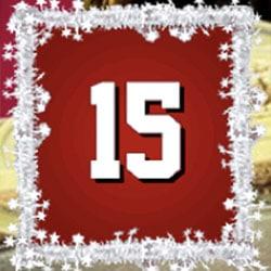 Casino Julkalender 15 december 2016