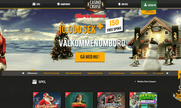Casino Cruise 10.000 kr casino bonus