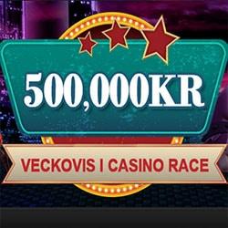 500 000 kr veckovis i Casino Race
