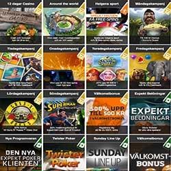 Expekt Casino med imponerande många kampanjer