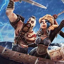 Vikingar går bärsärk under vikingaresor