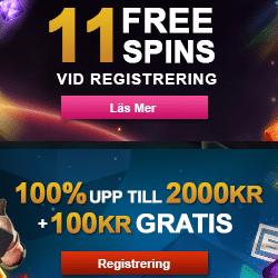 Bonuskod gemix031017 för 25 free spins