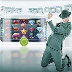 200 000 Free Spins delas ut av Mr green