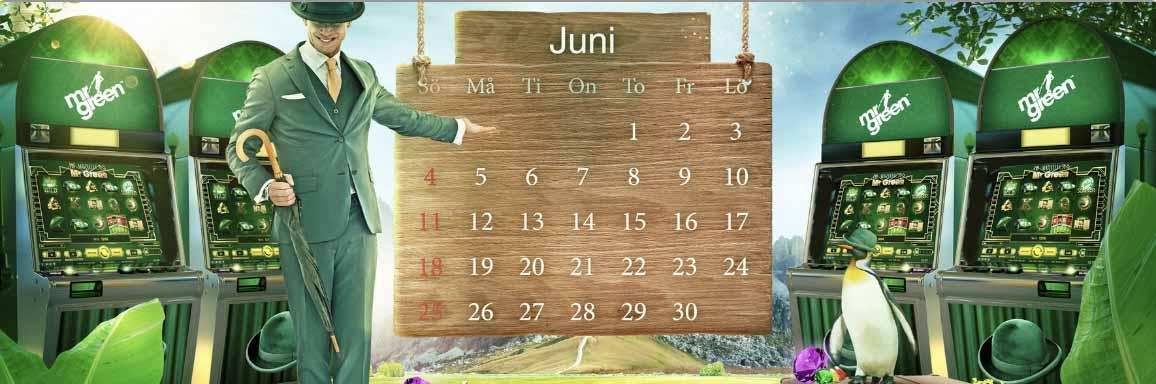 20 Free Spins Per Dag: Måndag 5 Juni - Söndag 11 Juni