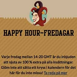 Happy Hour 100 %