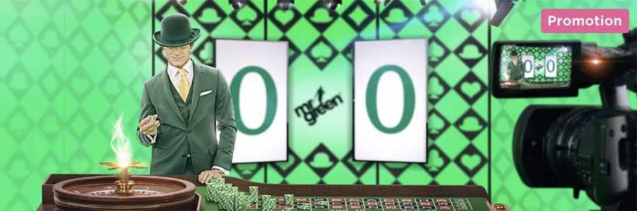Roulette grön vinst