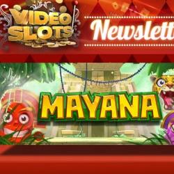 15 free spins på Mayana