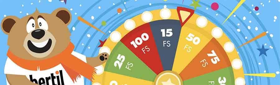 Bertils veckovisa gratissnurri casinot