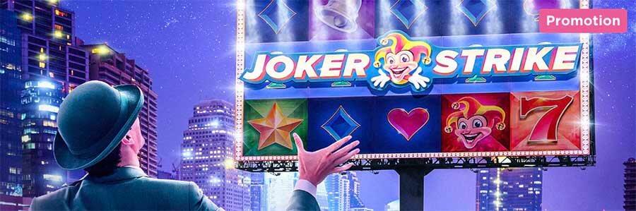 Joker Strike Free Spins