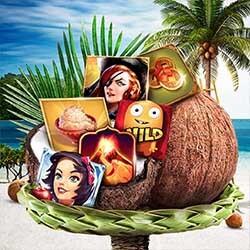 450 000 kronor gömda i kokosnötter