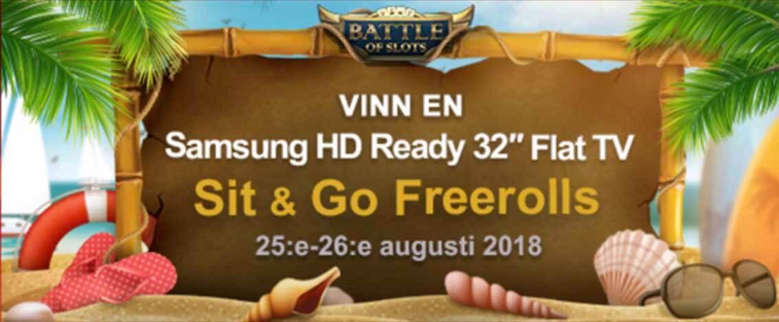 Battle Weekend på Videoslots 25-26 Augusti 2018