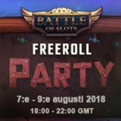 Vinn Freespins i kvällens Freeroll Party!