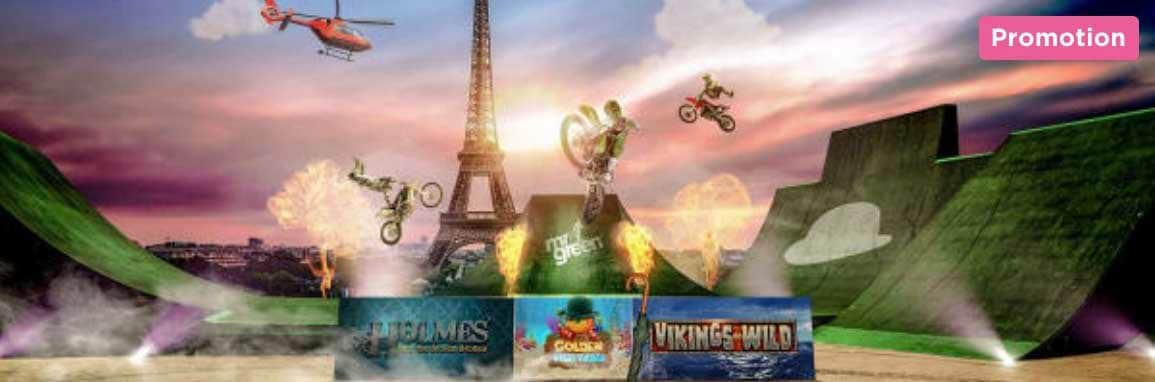 Nitro Circus VIP Upplevelse i Paris