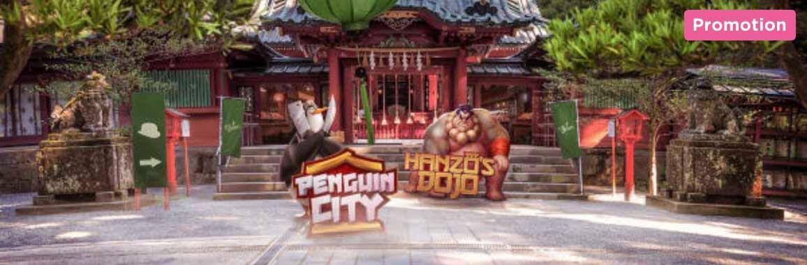 Penguin City och Hanzu's Dojo