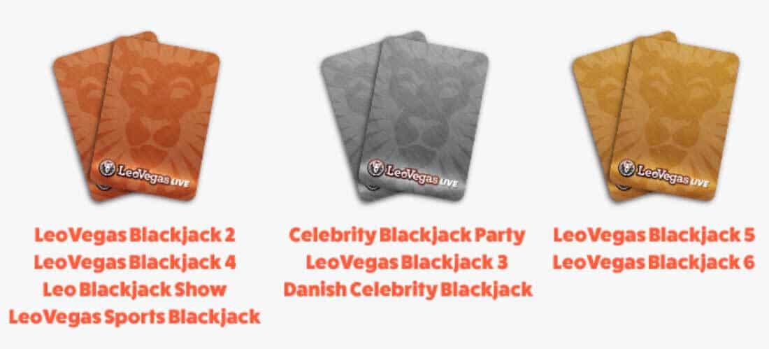 Live Blackjack - Vinn upp till 1500 kr extra per dag!