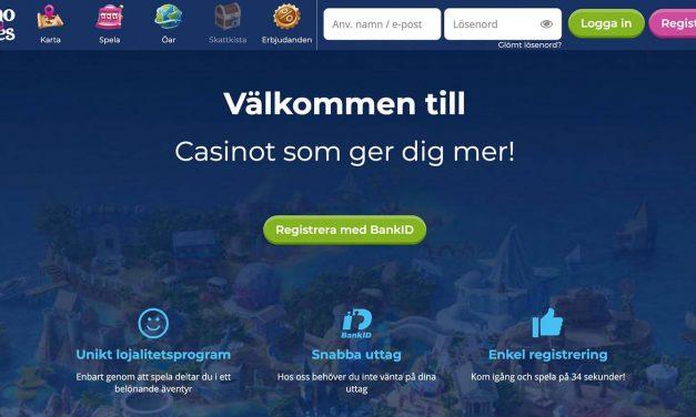 Casino Heroes 100% Bonus upp till 2000 kronor