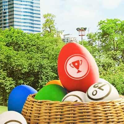 Bingo! Påskgodisjakt med påskspel varje dag i april
