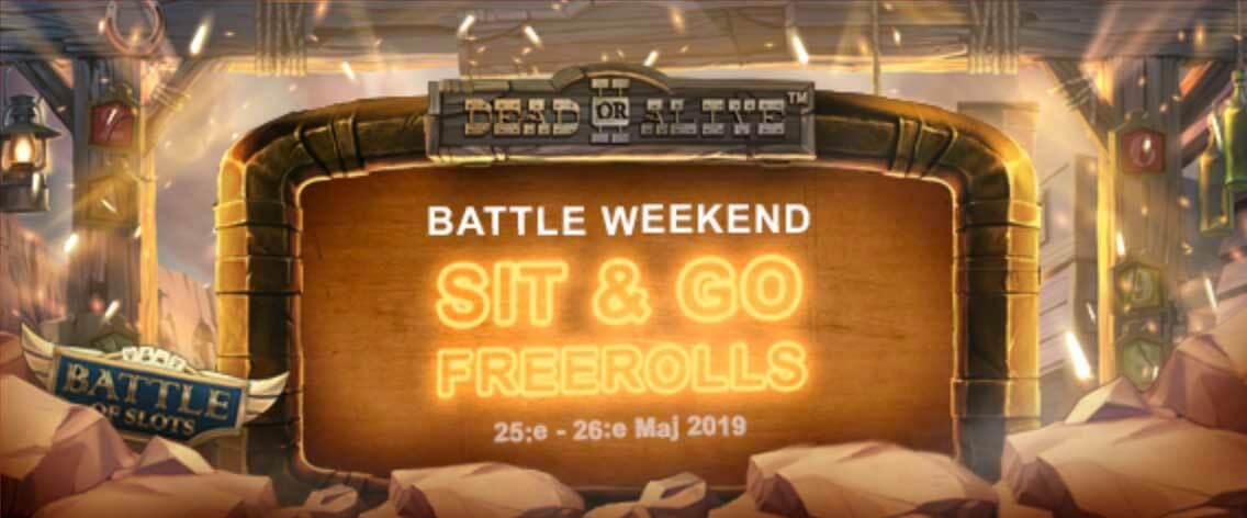 Casino Battle weekend