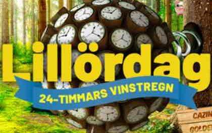 Fira Lillördag med 24-timmars vinstregn