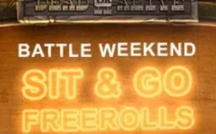 Videoslots Casino Battle Weekend 25-26 Maj 2019