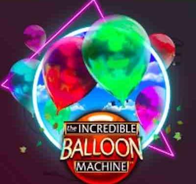 Otrolig ballong maskin, blås upp ballongerna nu!