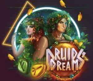 Keltisk mytologi med druider i mystiska skogar